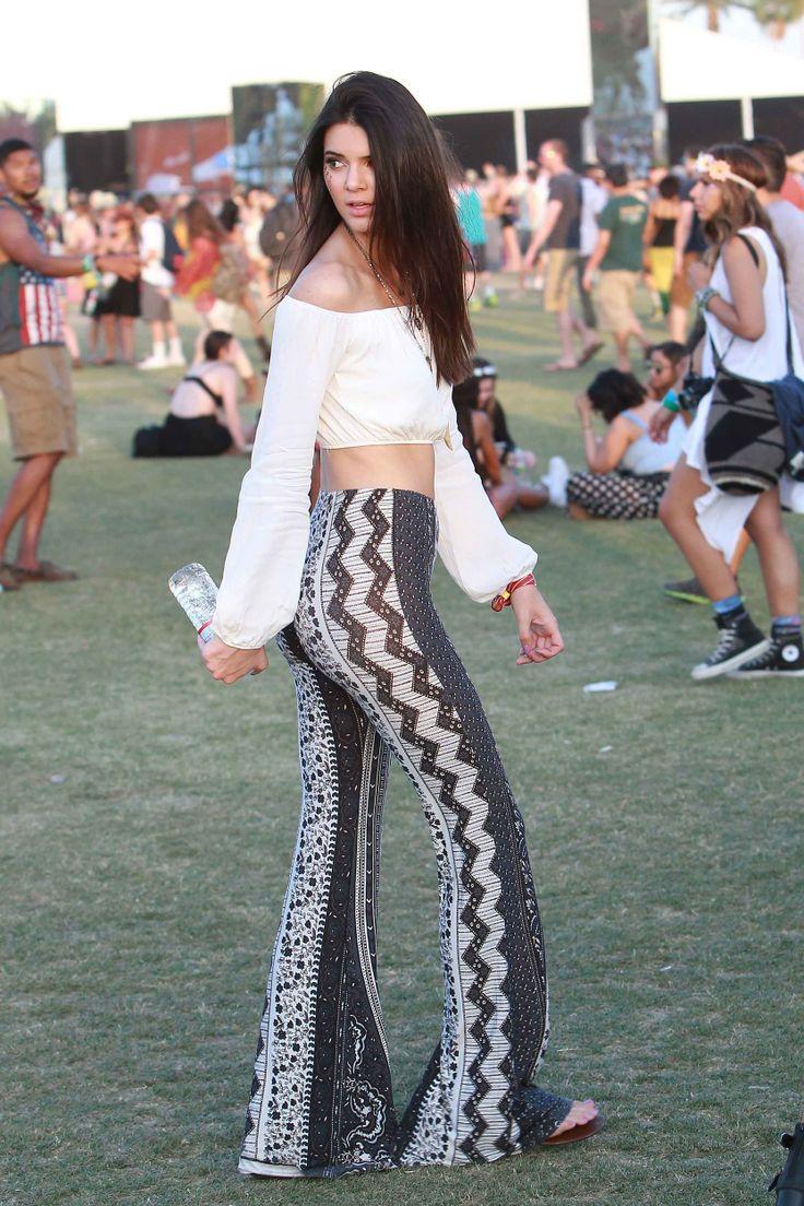 summer festival fashion kendall jenner pants