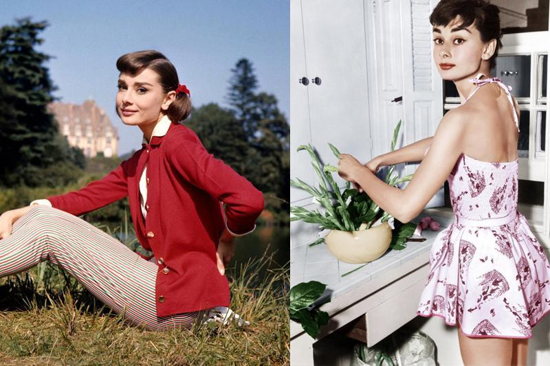 audrey hepburn style inspiration day engagement party dresses
