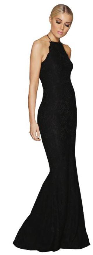 elle zeitoune lori black gown