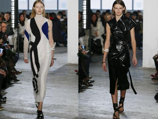 Midi autumn trends runway dress 2017