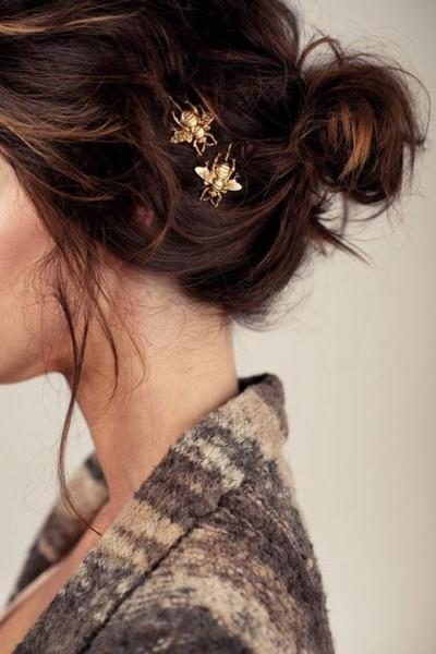 new years party outfit hairstyle