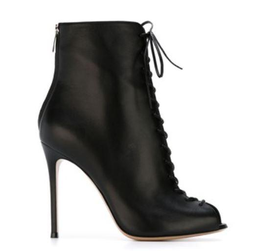 Gianvito Rossi laced up booties
