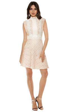 Sandro - Peaches Lace Dress - Front