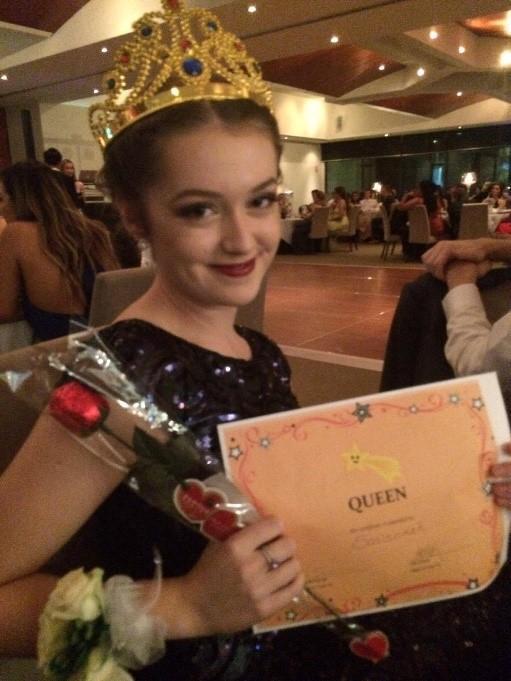 Year 12 Formal Queen
