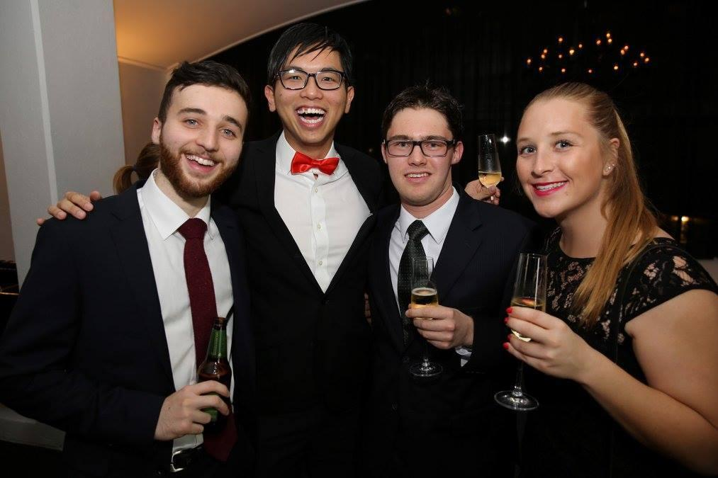 University Ball with friends