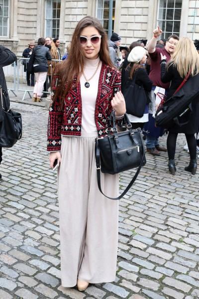 fashion week - Street Style - LFW FW15