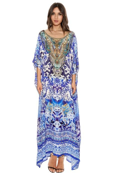 Camilla Guardian Of Secrets Round Neck Kaftan - Maternity Outfit