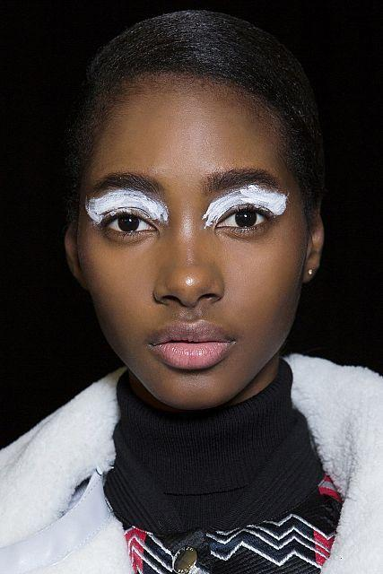 eye- winter makeup trend