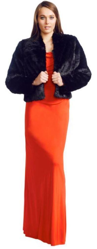 George Jasmine Faux Fur Jacket