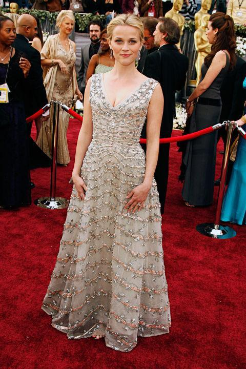 Reese Witherspoon Red Carpet Black Tie