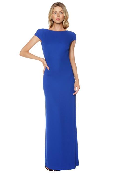 carla zampatti royal diamond cut out maxi dress colour autumn engagement party dresses