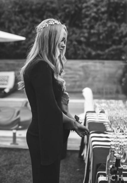 Black and white Carla Zampatti jumpsuit is perfect as an 'edgy' school formal dress