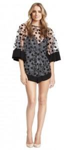 Alice McCall Gypsey eyes playsuit