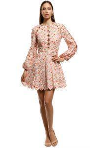 zimmermann_-_goldie_scallop_short_dress_-_pink_-_front