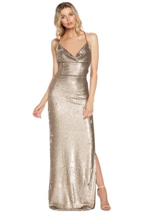 Gemeli Power Fishscale Dupey Gown EOFY Ball Dress Code
