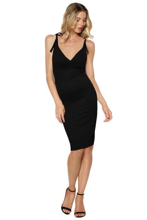 Wheels and Dollbaby Ponti Suppa Club Dress - Little Black Dress