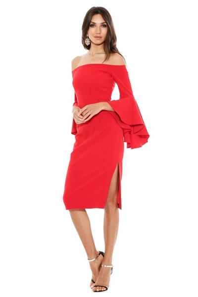 cady selena slit dress tomato instagram looks