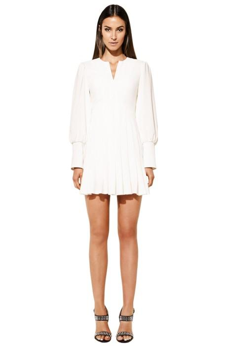 Mossman the Over Exposed Dress - White Winter