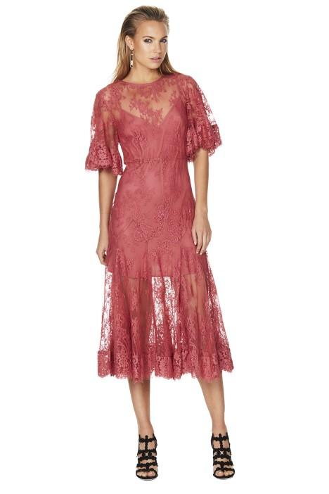 talulah blind love midi dress-over-pants styling