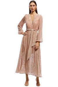 misha-collection-kelsie-dress-leopard-front