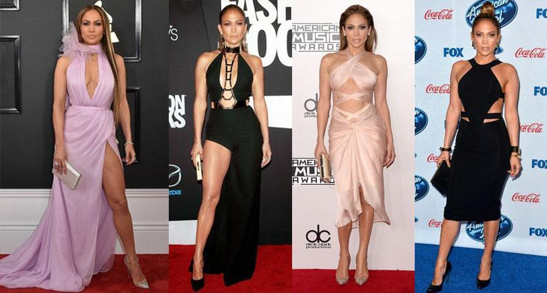J Lo birthday cut out styles