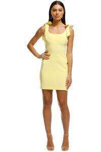 rebecca-vallance-zinnia-mini-dress-yelllow-front