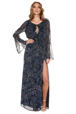 The Jetset Diaries - Mediterranean Maxi Dress - Front