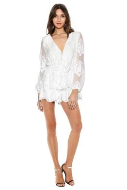 Ministry of Style - Roamer Playsuit - Ivory - Front