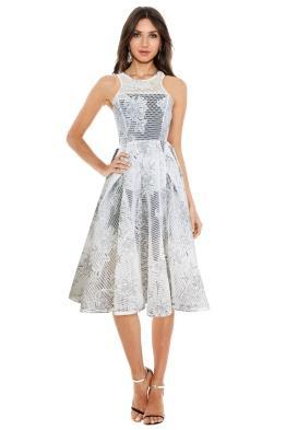 Premonition - Artisan Dress - White - Front