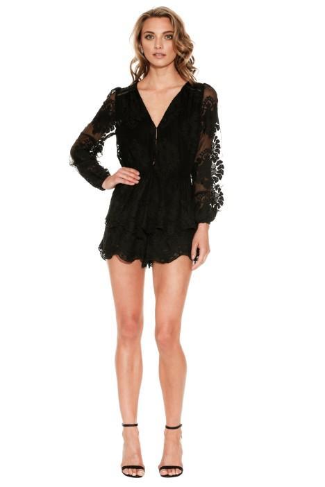 Ministry of Style Roamer Playsuit - Little Black Dress