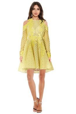 Thurley - Hybrid Dress Daffodil - Front