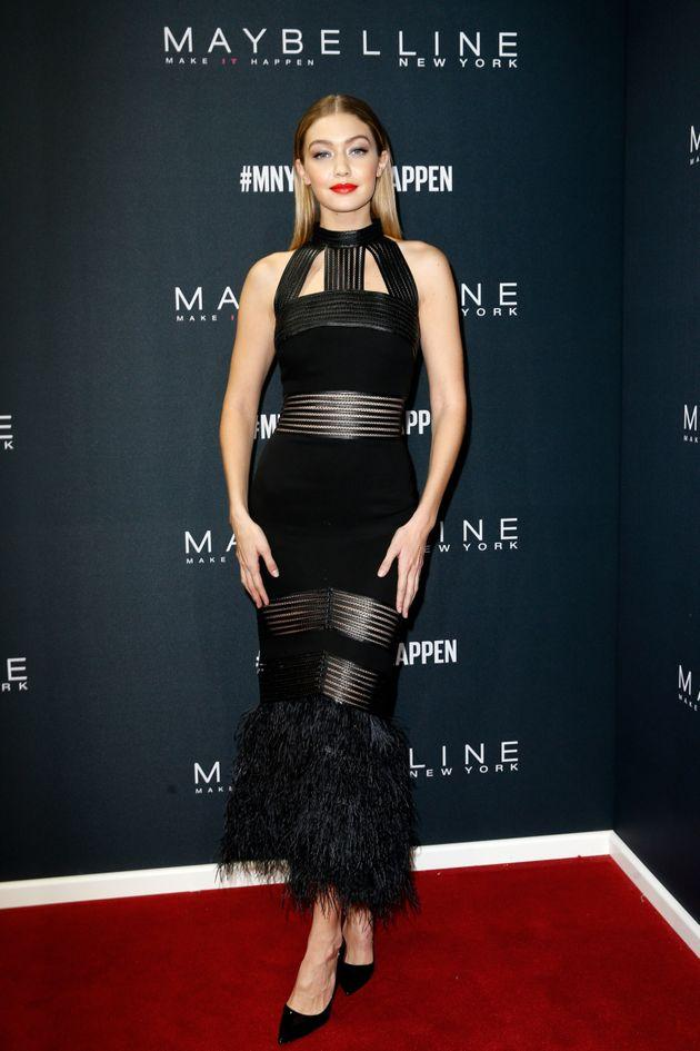 Gigi Hadid style formal dress