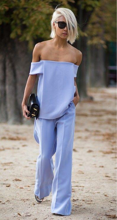 Beach wedding pant's and top suit