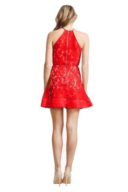 Alex Perry - Brandi Dress - Front - Red