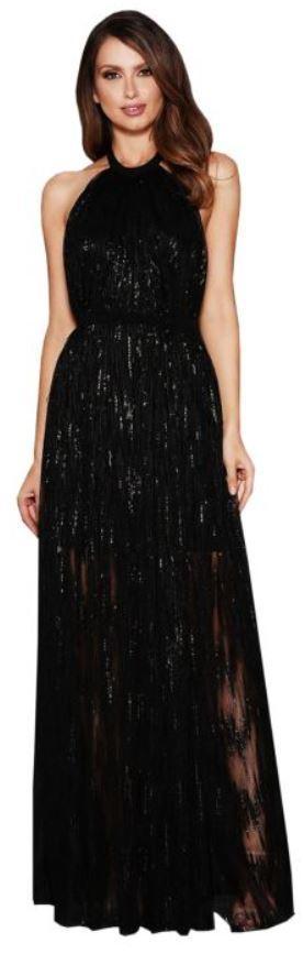 elle zeitoune gwyneth black gown
