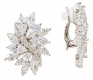 Adorne Diamante Vine Earring