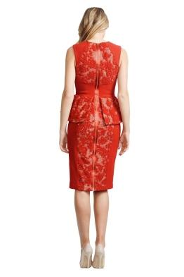 Alex Perry - Natalia Dress - Front - Red
