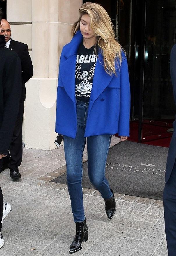 Gigi Hadid autumn wardrobe
