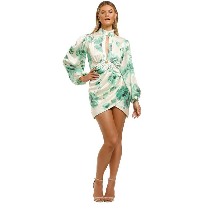 cmeo-collective-renew-dress-green-front