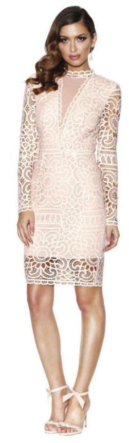 Grace and Hart Waiver Fitted Midi Dress
