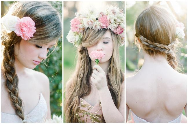 spring wedding hairstyles for guests