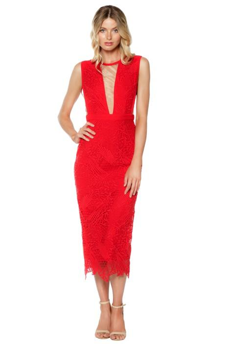 manning cartell sheath dress scarlet coour autumn engagement party dresses