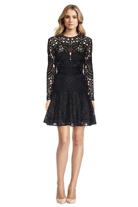lover_-_harmony_pleat_mini_dress_front
