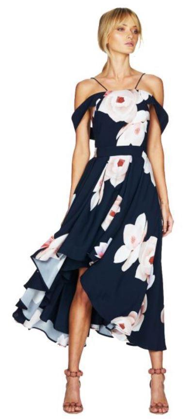 Talulah Floral Affair Midi Dress