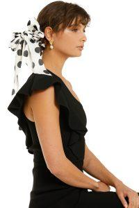 morgan-and-taylor-gretchen-scrunchie-with-long-tails-white-spot-product-two
