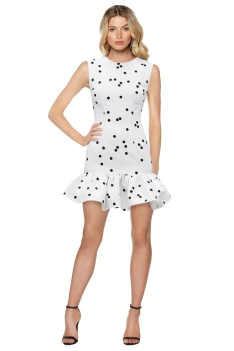 by johnny confetti gather mini dress day engagement party dresses autumn