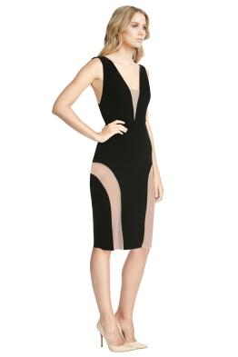 Yeojin Bae - Double Crepe Caterine Dress - Black - Front