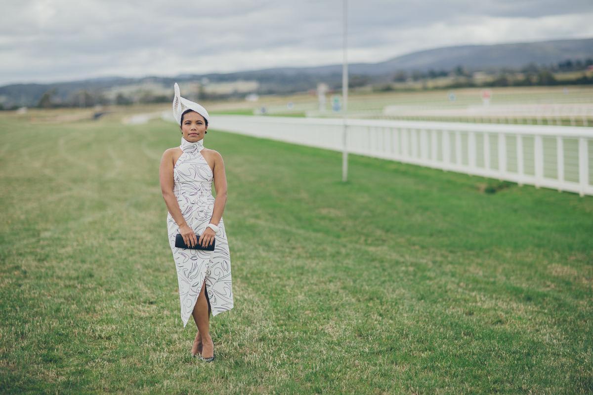 spring racing dress