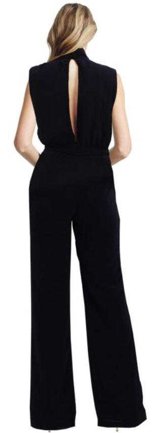 Misha Collection Black Ottavia Pantsuit