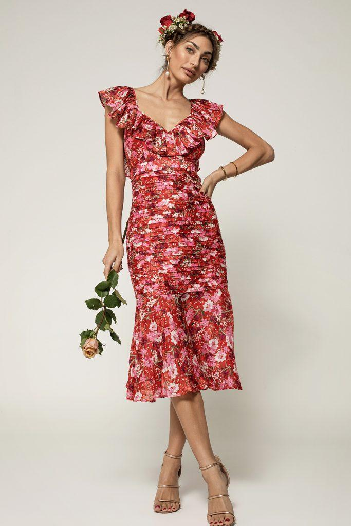 model-wearing-talulah-cloud-nine-midi-dress